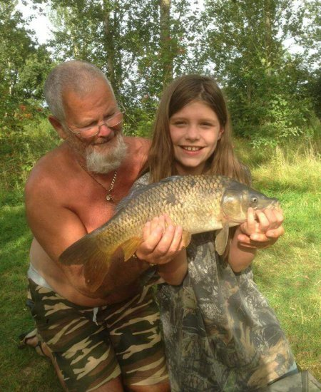Day ticket fishing at Gabriels Farm Camping and Carvanning Site in Kent