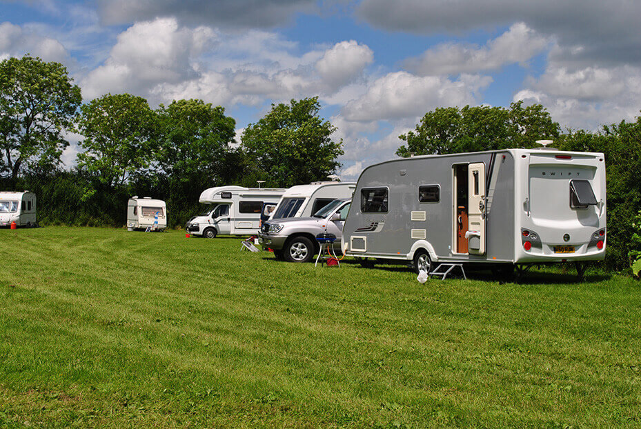 Bridge End Field, Gabriels Farm Camping and Carvanning Site in Kent