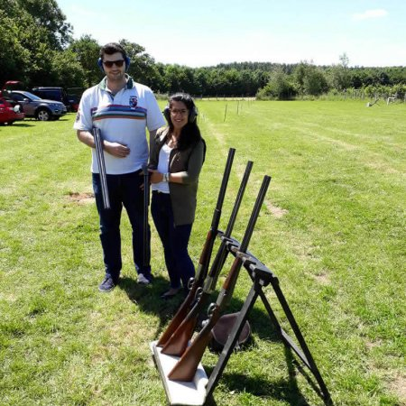 Clay Pigeon Shooting, Gabriels Farm Camping and Carvanning Site in Kent