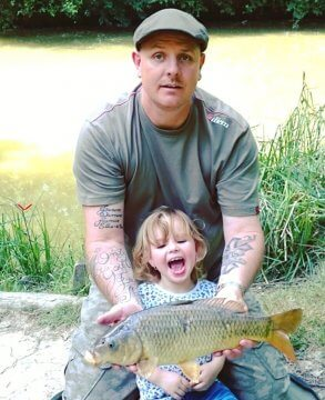 Family Fishing, Gabriels Farm Camping and Carvanning Site in Kent